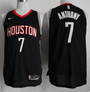 maillot-basket-anthony-qualité-noir-houston-2018-2019