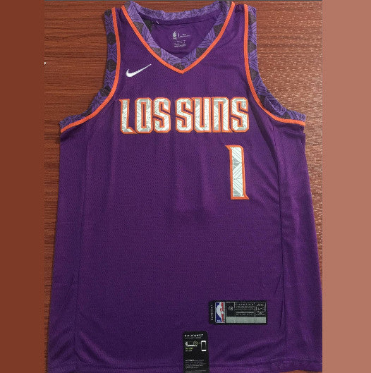 maillot-basket-booker-qualité-city-city edition-suns-2019-brodé