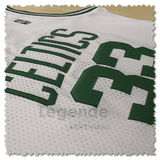 maillot-basket-bird-qualité-blanc-celtics-replica