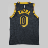 maillot-basket-city edition-qualité-kuzma-lakers-back