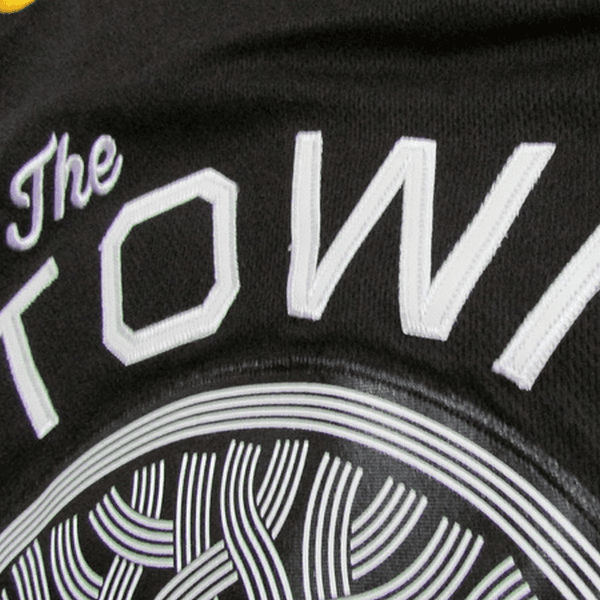 maillot-warriors-the town-durant-noir-2018