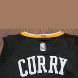 maillot-warriors-the town-curry-qualité-noir-2018