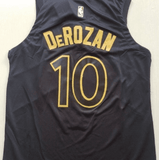 maillot-basket-derozan-qualité-city edition-raptors-2018-cousus-back