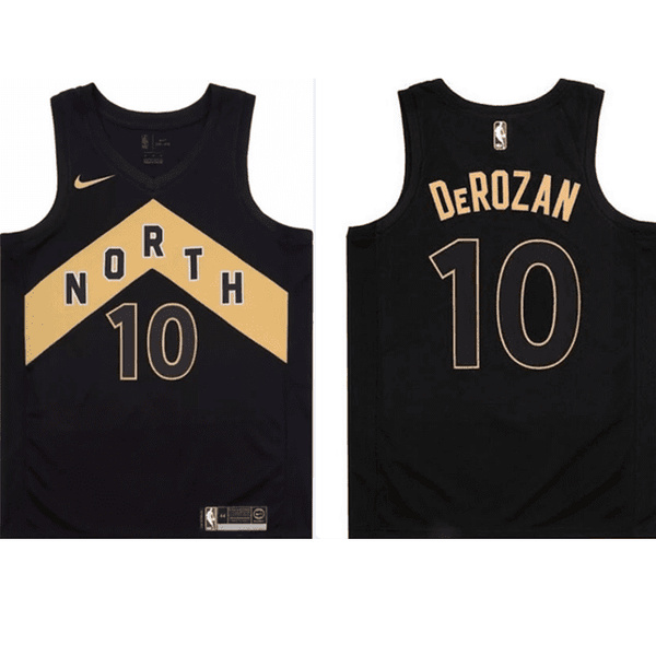 maillot-basket-derozan-qualité-city edition-raptors-2018-cousus