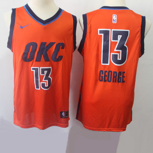 maillot-basket-george-pg13-earned edition-brodé-okc-2019