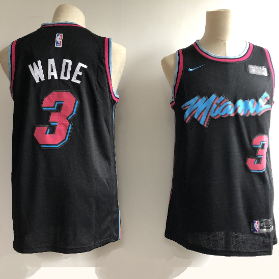 maillot-basket-wade-qualité-city edition-2018-19-noir-sponsor - Copie
