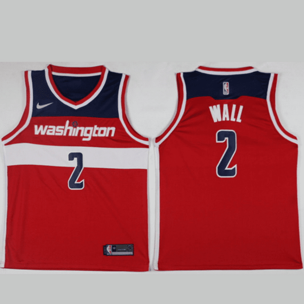 maillot-basket-wall-qualité-rouge-2018