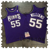 maillot-basket-williams-white chocolate-kings-brodé-55