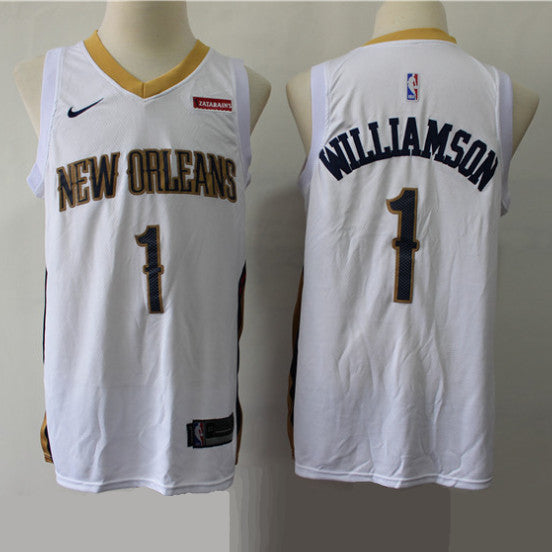 maillot-basket-zion-williamson-pelicans-2019-association-blanc
