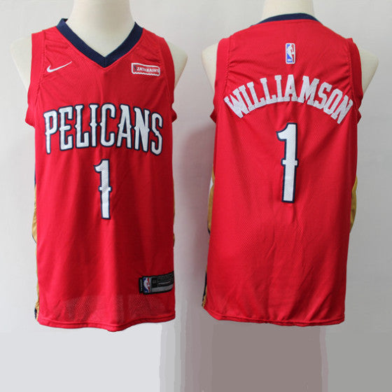 maillot-basket-zion-williamson-pelicans-2019-rouge