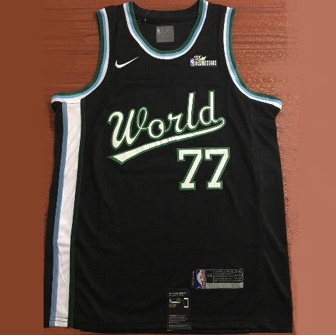 maillot-basketball-brodé-rising star-world-doncic