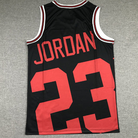 maillot-big face-jordan-michael-chicago-bulls-retro-michell & ness-noir-23