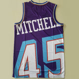 maillot-big face-donovan-mitchell-utah-jazz-retro-michell & ness-violet-45