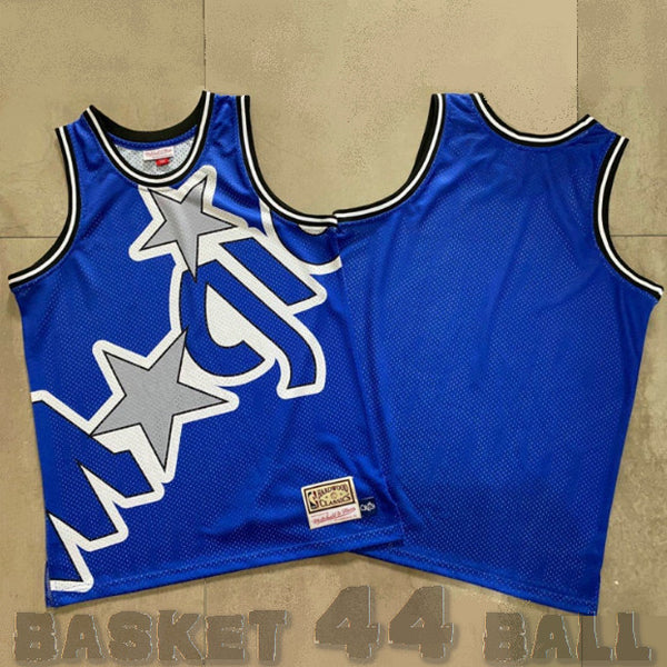 maillot-big face-orlando-magic-retro-michell & ness-bleu