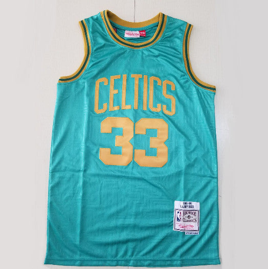 maillot-bird-larry-boston-celtics-33-year of the rat-retro-vert