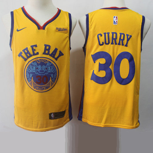 maillot-curry-city-warriors-golden state-curry-blanc-2018