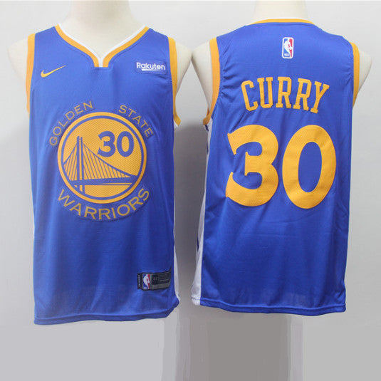maillot-curry-icon-warriors-golden state-curry-bleu-2019