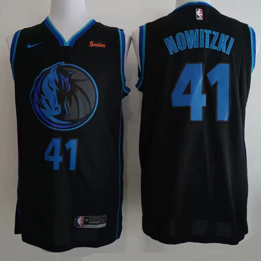 maillot-dirk-nowitzki-dallas-nba-city-brodé-city edition-2019-qualité
