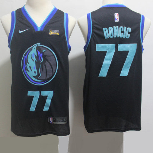 maillot-doncic-dallas-nba-city-brodé-city edition-2019-qualité