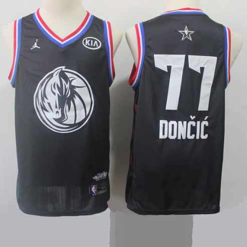 maillot-doncic-luka-jordan-all star game-2019-noir