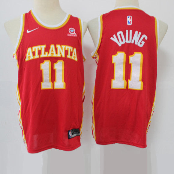 maillot-hawks-young-qualité-icon-edition-11-jordan