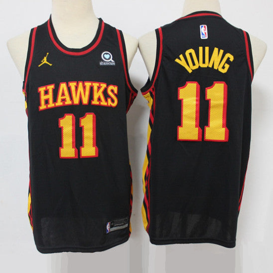 maillot-hawks-young-qualité-statement-edition-11-jordan-2020-2021