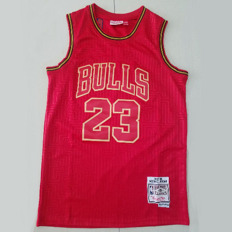 maillot-jordan-michael-chicago-bulls-23-year of the rat-retro-rouge