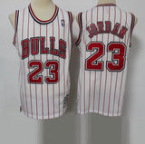 maillot-jordan-rouge-reload-brodé-23-revisited-blanc