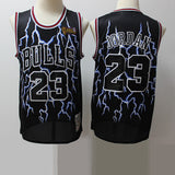 maillot-jordanlightning-brodé-basket-mitchell and ness-23