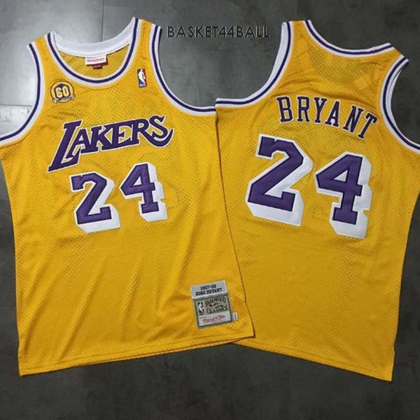 maillot-kobe-24-jaune-mitchell&ness-throwback-kobe-bryant