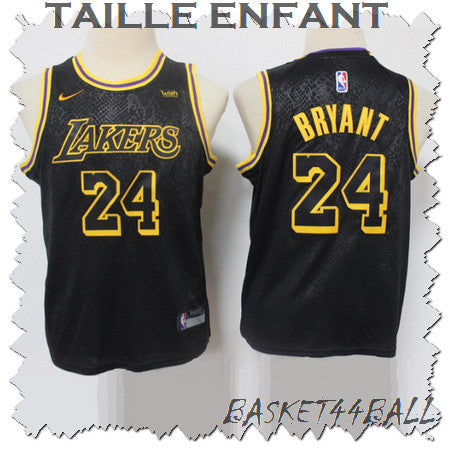 maillot-kobe-bryant-enfant-24-lakers-mamba-city edition