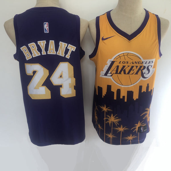maillot-kobe-bryant-lakers-2020-los angeles-spécial-palmier