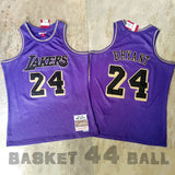maillot-kobe-bryant-lakers-24-year of the rat-retro-haute qualité