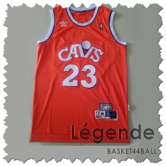 maillot-lebron-james-cleveland-orange-cavs