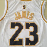 JAMES Lebron (Golden Edition) Blanc
