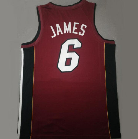 JAMES Lebron MIAMI HEAT (Statement Edition) Floqué