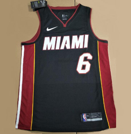 JAMES Lebron MIAMI HEAT (Icon Edition) Floqué