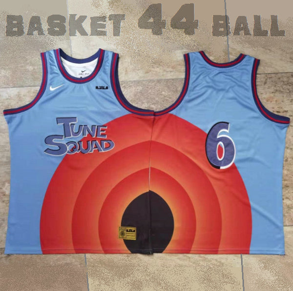 maillot-lebron-james-space jam-23-space jam 2-bleu