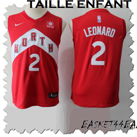 maillot-leonard-kawhi-raptors-enfant-rouge-earned