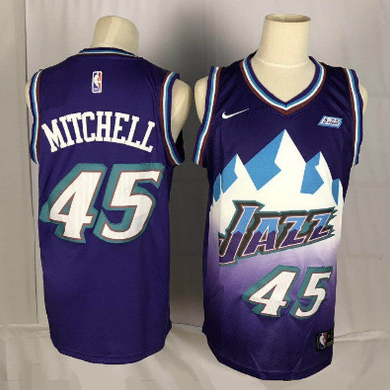 maillot-mitchell-donovan-qualité-jazz-throwback