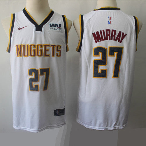 maillot-nuggets-murray-qualité-blanc-2019
