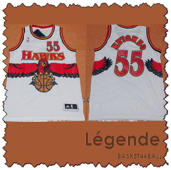 maillot-hawks-mutombo-qualité-blanc