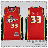 maillot-pistons-hill-qualité-rouge-nba