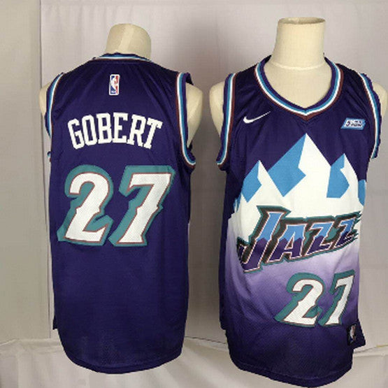 maillot-rudy-gobert-retro-qualité-jazz-throwback
