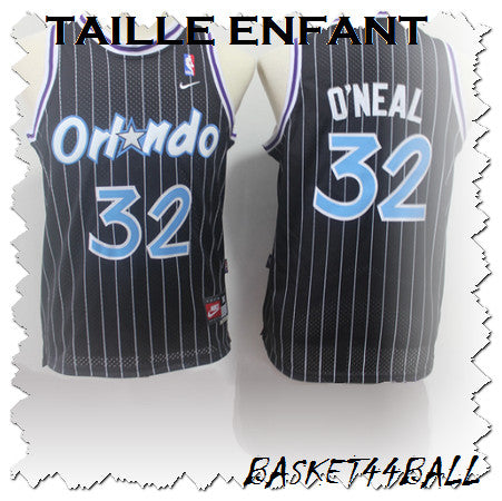 maillot-shaq-o'neal-noir-orlando-magic-enfant-kid-32