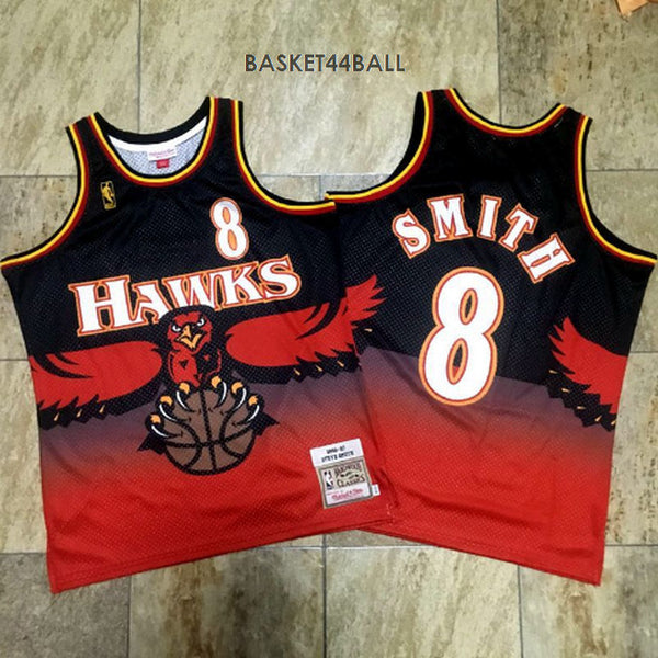 maillot-steve-smith-nuggets-qualité-rouge-imprimé-8