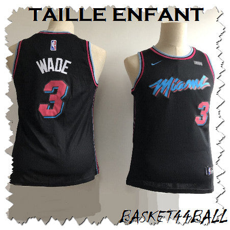 maillot-wade-dwayne-miami-enfant-city edition-vice-nights