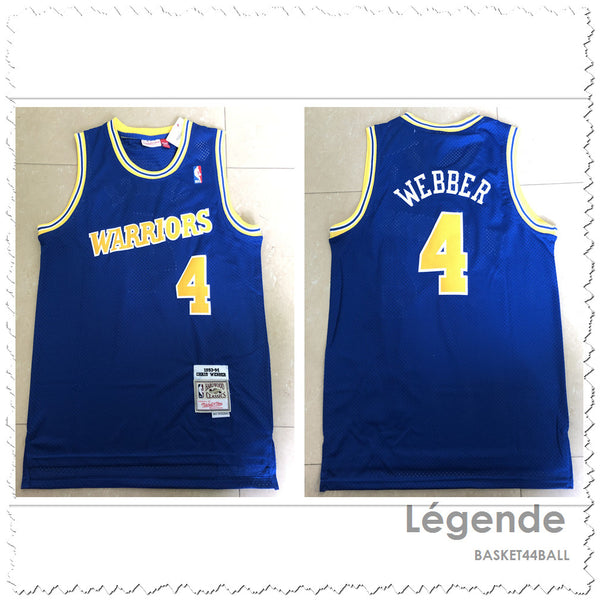 maillot-webber-chris-warriors-golden state-1993-1994