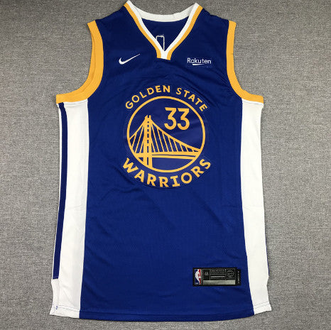 maillot-wiseman-warriors-city-2021-33-bleu