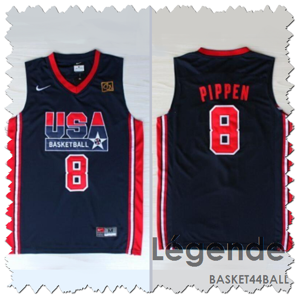 pippen-usa-1992-dream team-qualité-bleu
